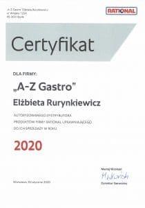 Certyfikat Rational