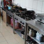 Realizacja kuchni w barze
