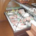 sklep mięsny - lada chłodnicza